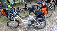 Electric bike used on Lycian Coast Cycle