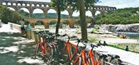 Bikes at Pont du Gard