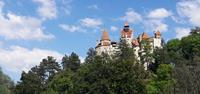 Hiking towards Bran Castle in Romania - UTracks walking holidays