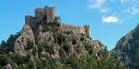 Castle in the Cathar region