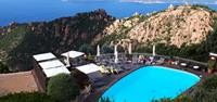 Magnificent views from a hotel in Piana