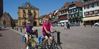 Cycling through the delightful villages of Alsace are best experienced together