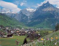 Engelberg (1000 m) in Canton Obwalden in Central Switzerland.