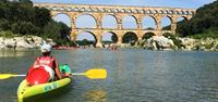 Kayaking at Pont du Gard