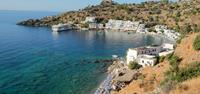 Loutro harbour in Crete