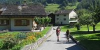 Rambling through villages in the Mont Blanc region