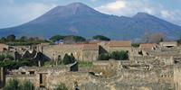 Pompeii & Mt Vesuvius are very close to Naples, home of pizza