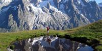 Enjoy the fresh alpine air around Mont Blanc