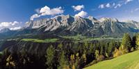 The Gosau Valley in Austria's Salzkammergut region