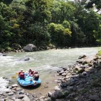 Drop in spot on the Paquare river, Costa Rica   Sophie Panton