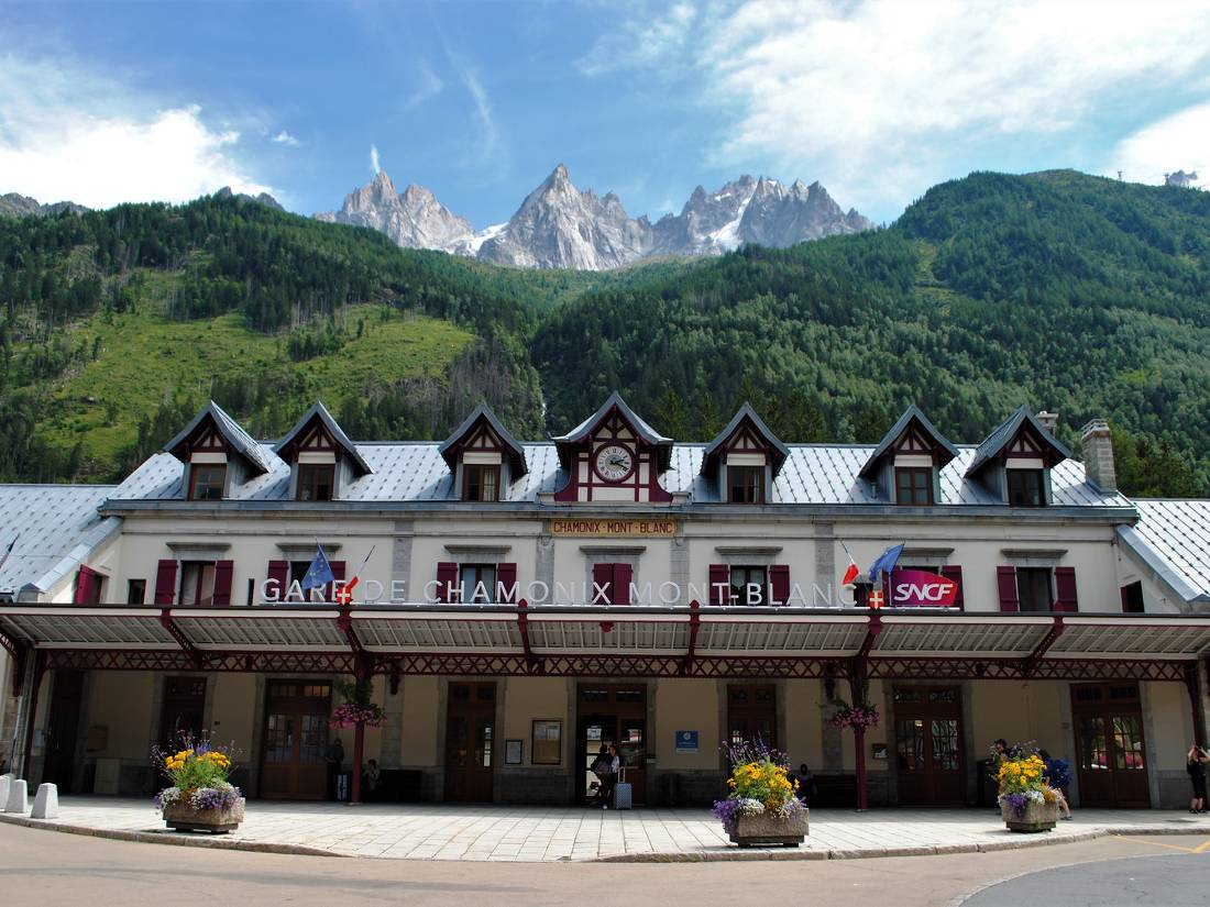 Chamonix SNCF train station |  <i>Ryan Graham</i>