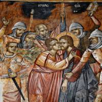 Frescoes at Agia Paraskevi Church in Pafos