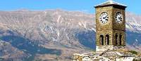 Cycling the quiet trails of Albania to view impressive scenery and sights