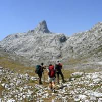 Crossing the rugged terrain between Montenegro and Albania