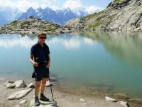 Visit spectacular alpine lakes on the Mont Blanc in Comfort trip