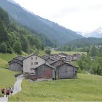 Walk through villages on the Mont Blanc walk | Erin Williams
