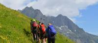 On the trail in the Mont Blanc region | Erin Williams