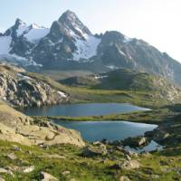 The Gran Paradiso National Park offers spectacular alpine walking