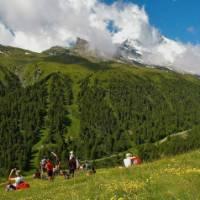 Group above Zermatt | Sue Badyari