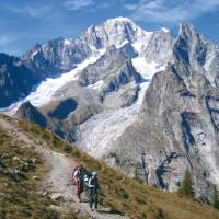 Hikers on the Mont Blanc Circuit | Chris Viney