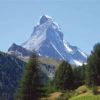 The distinctive Matterhorn