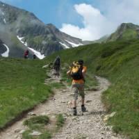 Let kids burn their holiday energy on alow altitude  walk in France's Mont Blanc region   Kate Baker
