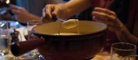 Fondue is a typical meal on the refuges in Switzerland | Tim Charody