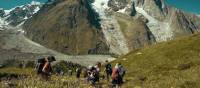 Trek with like minded people on the Mont Blanc Guided Walk | Tim Charody