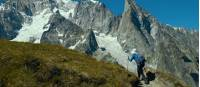 The Mont Blanc region provides inspiring views each day |  <i>Tim Charody</i>
