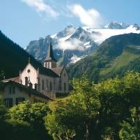 The stunning village of Trient is a day's walk from Chamonix   Sue Badyari