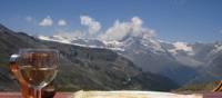 A restaurant with a view across Zermatt, Switzerland   Jonathan Dixon