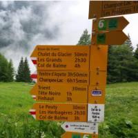 Signposts on Mont Blanc | Dana Garofani