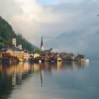 Hallstatt, one of the Salzkammergut regions most picturesque villages   Liz Light