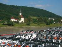 Bikes aboard the boat on the Danube |  <i>Kate Baker</i>