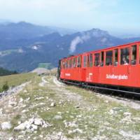 Cog train in Austria |  <i>Huggett</i>