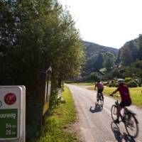 Cycling in Austria along the Danube