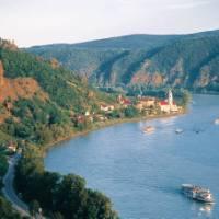 The Danube River, Wachau Valley