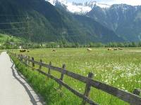 Smooth bike paths on the Innsbruck to Salzburg cycle