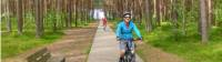 Our Baltic coast cycle will take you through Lithuania's lush northern pine forests |  <i>Gesine Cheung</i>