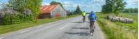 Cycling through rural landscapes on Saaremaa Island, Estonia |  <i>Gesine Cheung</i>