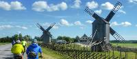 Cycling alongside traditional windmills in Estonia | Gesine Cheung