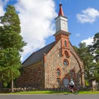 The Baltic country of Estonia lends itself to cycle touring   Andrew Bain