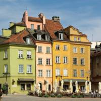 Spend time in the Warsaw Old Town on your cycling holiday in Poland