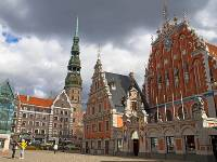The beautiful Latvian capital of Riga |  <i>Andrew Bain</i>
