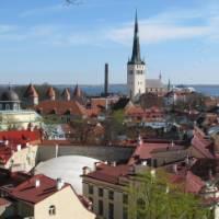 The Estonian capital of Tallinn