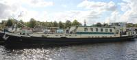Category A comfort barge Jelmar on our Holland bike & barge trips