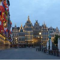 The city of Antwerp in the evening | Richard Tulloch