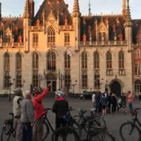 Enjoying the evening light in Bruges   Richard Tulloch