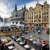 Brussels main square during a beer festival   Milo Profi