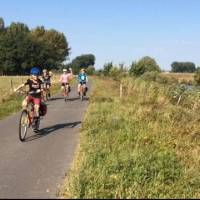 Cycling in the Flemish countryside | Hilary Delbridge